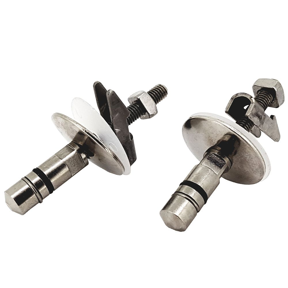 Duravit 2nd Floor Soft Close Toilet Seat Hinge Set 0061301000
